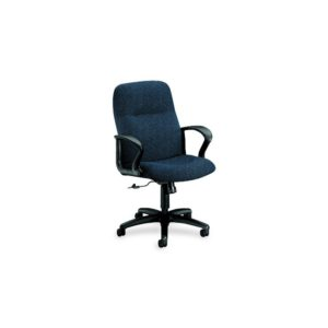 HON 2072BW90T Gamut Series Managerial Mid-Back Swivel/Tilt Chair, Navy Blue