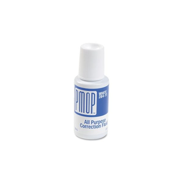 All Purpose Correction Fluid, 18 ml Bottle, White (Liquid Paper)