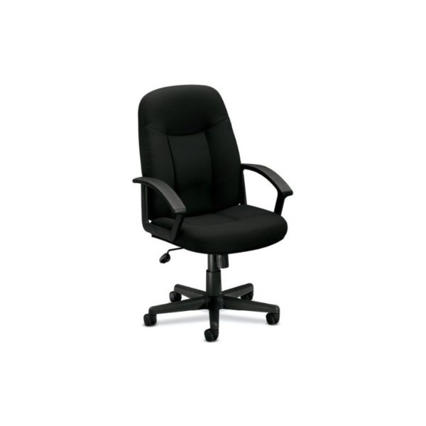basyx by HON HVL601VA10 Series Mid-back Chair with Loop Arms