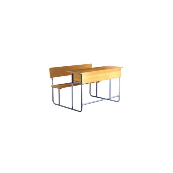 Kubic School 3 Seat Desk and Chair (10-12)