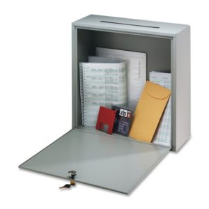 Buddy Products Wall-Mountable Interoffice Mail Collection Box