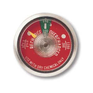 240lb Dry Chemical Gauges G240