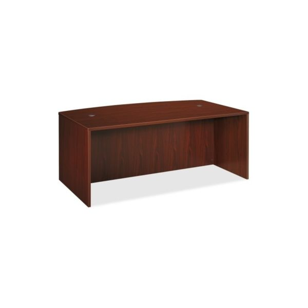 Basyx by HON BL2111NN BL Series Desk Shell with Bow Front Top