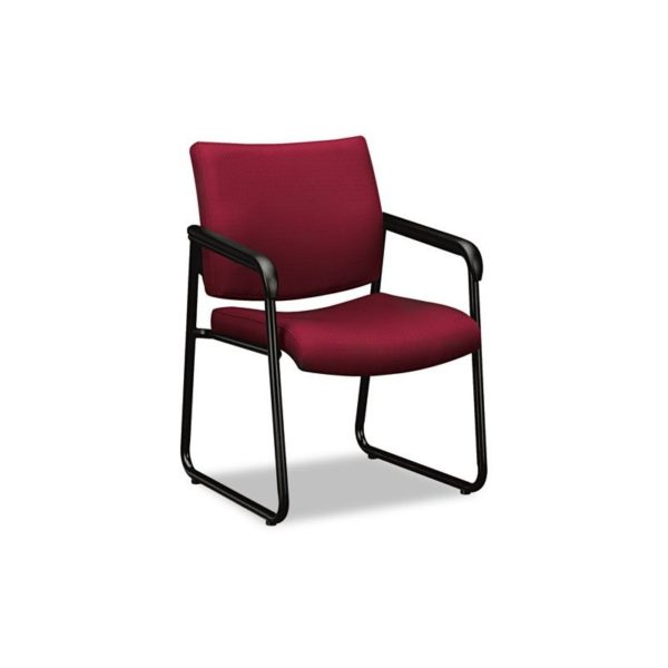 Basyx by Hon Guest Chair, Red