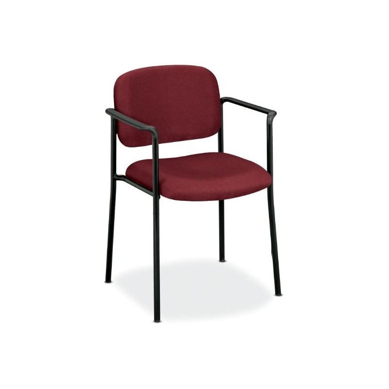 Basyx by HON VL606VA62 VL606 Armless Guest Chair  sc 1 st  INTERNEGOCE SA & Basyx by Hon guest chair with arms - VL616VA62 VL616 u2014 INTERNEGOCE S.A.
