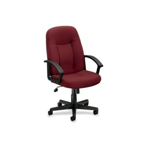 Basyx by HON VL601VA62 Mid Back Management Chair, Burgundy