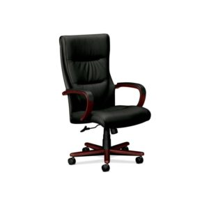 Basyx by HON VL844NSP11 High Back Executive Chair, Black