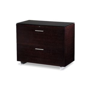 BDI Sequel Lateral File Cabinet 6016 - Espresso Stained Oak
