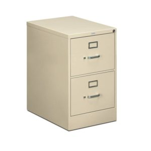 HON 512CPL 510 Series Two-Drawer, Full-Suspension File, Legal, 29h x25d, Putty