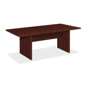 Basyx BL Laminate Series Rectangular Conference Table, 72w x 36d x 29-1/2h, Mahogany