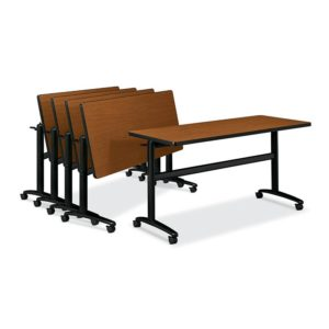 basyx® by HON Flip Top Training Tables - BTR2460NHP