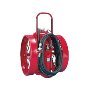 Amerex 491 Wheeled Fire Extinguisher, 300 lb, 50 ft