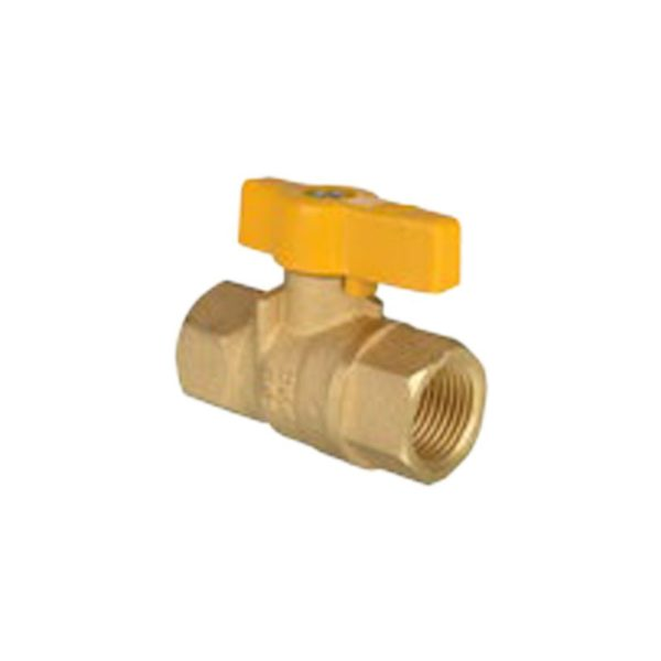 "IUSA- Standard BALL VALVE Threadable -1/2"" HNPT x 1/2"" HNPT"