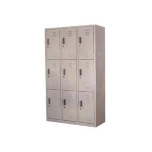 KUBIC 9-Door Locker - w/keys (HDC-L9)