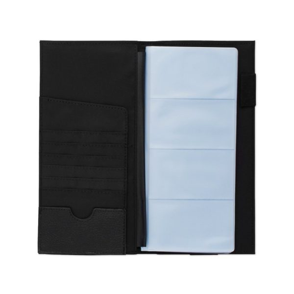 Rolodex Low-Profile Business Card Book, 96-Card, Black (76659)
