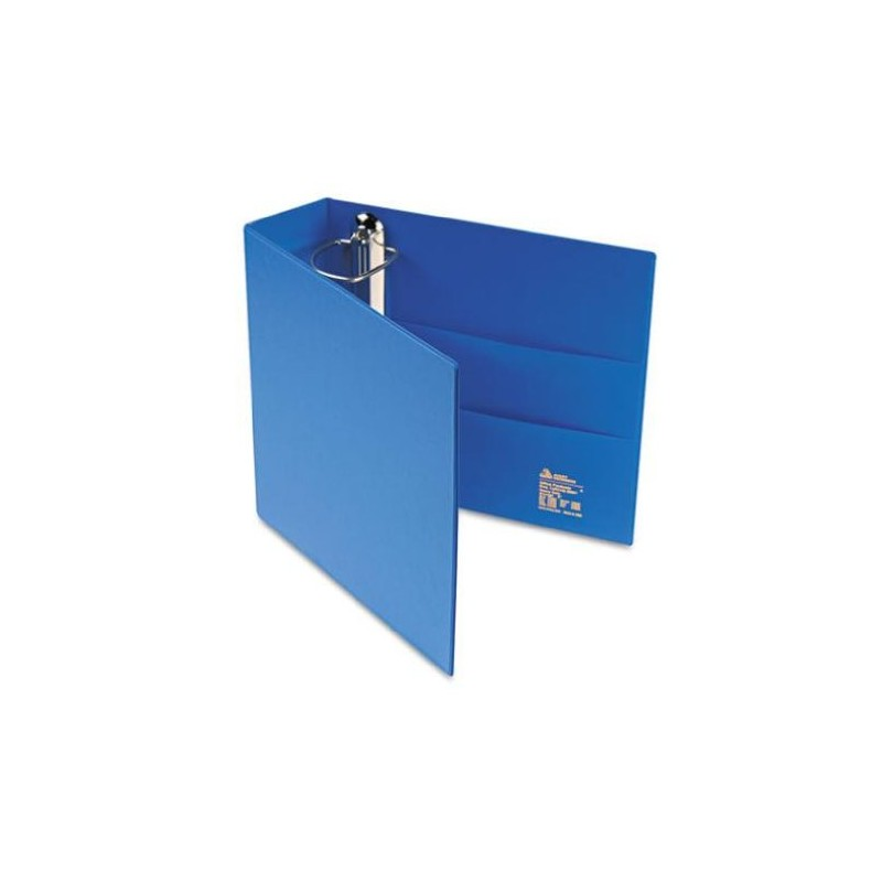 avery heavy duty binder with 3 inch one touch ezd ring blue 79883