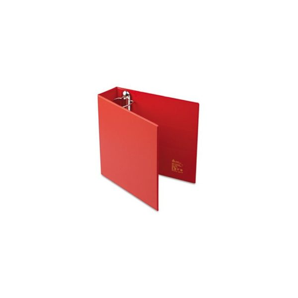 Avery Heavy-Duty Binder with 3-Inch One Touch EZD Ring, Red (79583)