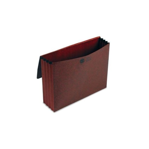 Esselte Pendaflex 1053ELOX 3 1/2 in Expansion Standard Wallet Red Fiber Letter Red