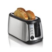 Hamilton Beach 24810 4-Slice Long Slot Keep Warm Toaster