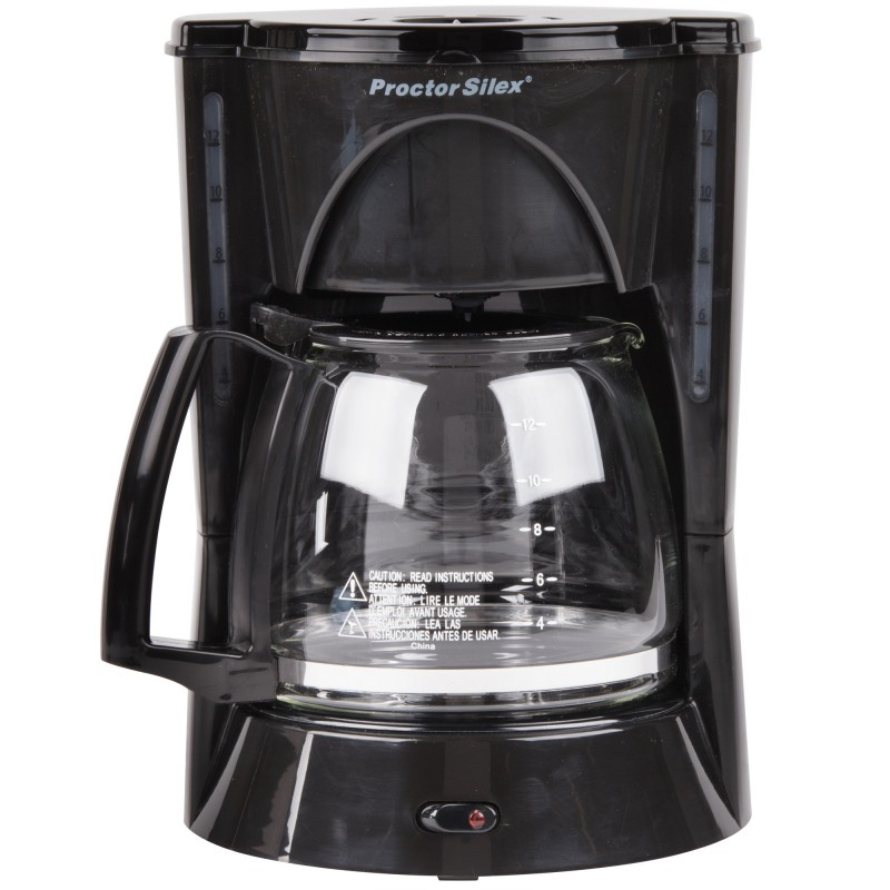 Coffee Maker Electrical Load : 12 Cup Automatic Coffee Maker (black)-48524RY INTERNEGOCE S.A.