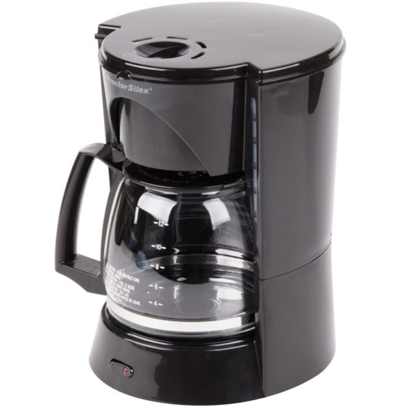 12 Cup Automatic Coffee Maker (black)-48524RY